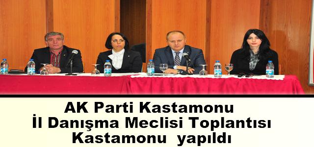 AK Parti Kastamonu İl Danışma Meclisi Toplantısı, Kastamonu  yapıldı