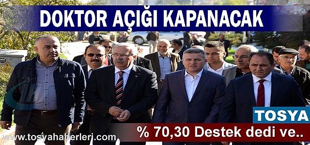 AK PARTİ KASTAMONU MİLLETVEKİLLERİ TOSYA ZİYARETİ