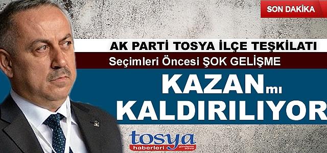 AK Parti Tosya teşkilatında sular bir türlü durulmuyor