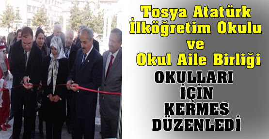 Atatürk İlköğretim Okulu KERMES Düzenledi