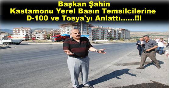 Başkan Kazım Şahin Kastamonu Yerel Gazetecilere Tosya'yı ve Hizmetleri Anlattı
