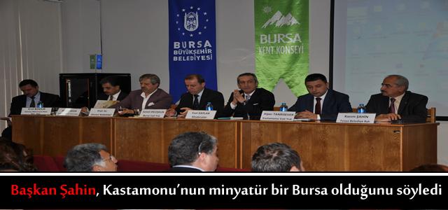 BURSA - KASTAMONU GÜNLERİNDE TURİZM PANELİ DÜZENLENDİ