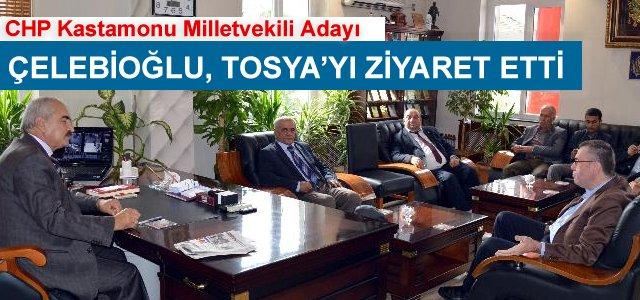 CHP Kastamonu Milletvekili Adayı Tosya'yı Ziyaret Etti