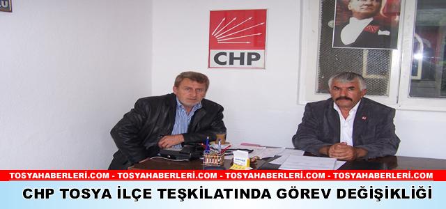 CHP Tosya İlçe Başkanlığı'na Mustafa Söylemez Seçildi