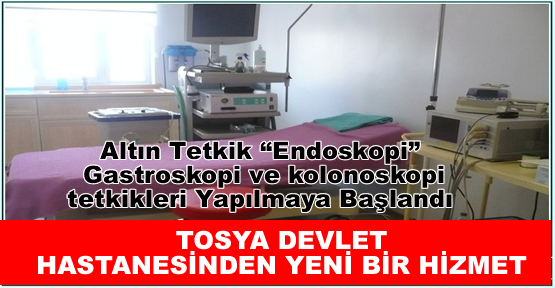 Endoskopi, Gastroskopi ve kolonoskopi tetkikleri Başladı