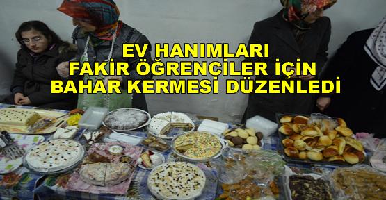 Fakir Öğrenciler için ''Bahar Kermesi'' Açıldı