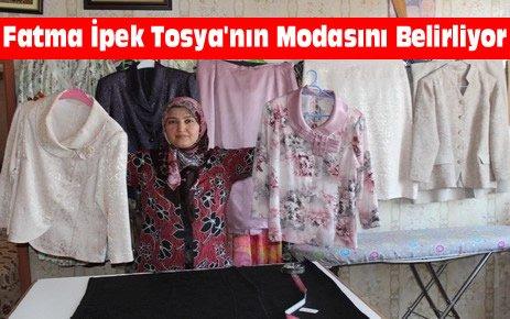 Fatma İpek Tosya'nın Modasını Belirliyor