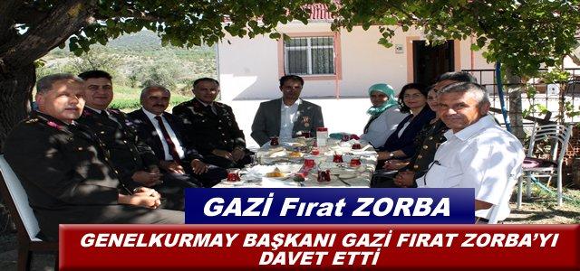 GENELKURMAY BAŞKANI GAZİ FIRAT ZORBA'YI DAVET ETTİ