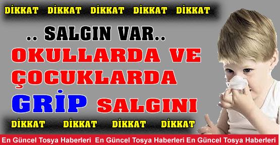 '' GRİP SALGININA DİKKAT ''