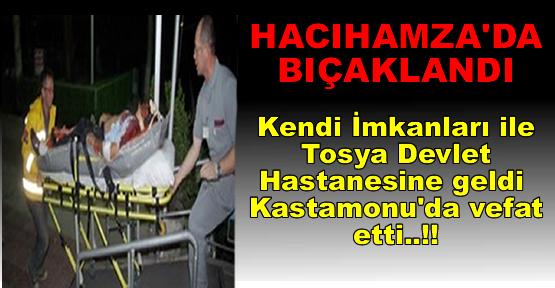 Hacıhamzada Bıçaklandı Tosya-Kastamonu Yolunda Öldü