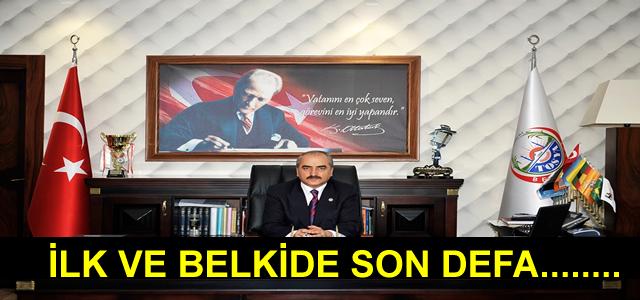 İLK VE BELKİ DE SON DEFA