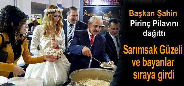 İzmirliler Tosya Pirincinin Lezzetine Doyamadı