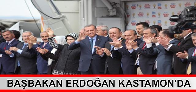 Kastamonu Başbakan Erdoğan'ı Bağrına Bastı