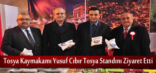 Kaymakam Yusuf Cıbır Ankara Günlerinde Tosya Standını Ziyaret Etti