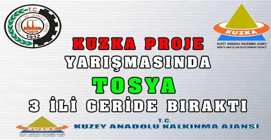 Kuzka Proje Yarışmasında Tosya Lider