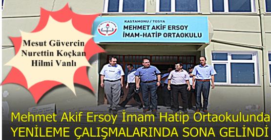 Mehmet Akif Ersoy İmam Hatip Ortaokulunda Sona Gelindi