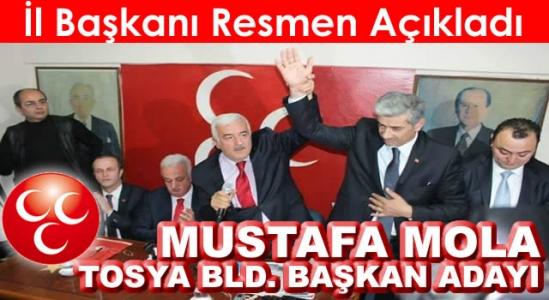 Mhp Açıkladı Mustafa Mola Tosya Bld. Başkan Adayı (Video)