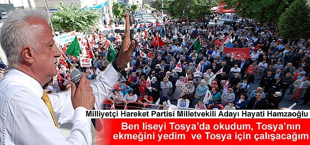 MHP İLK MİTİNGİ TOSYA#039;DA YAPTI