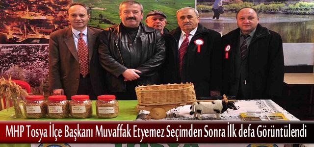 MHP Tosya İlçe Başkanı Ankara Günlerinde Standları Ziyaret Etti