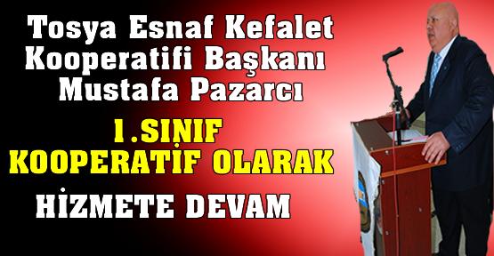 Mustafa Pazarcı'nın Konuşma Metni