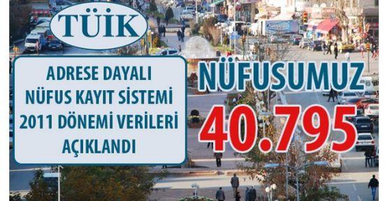 """""""NÜFUSUMUZ 40.795"""" KASTAMONUNUN EN BÜYÜK İLÇESİ YİNE TOSYA"""