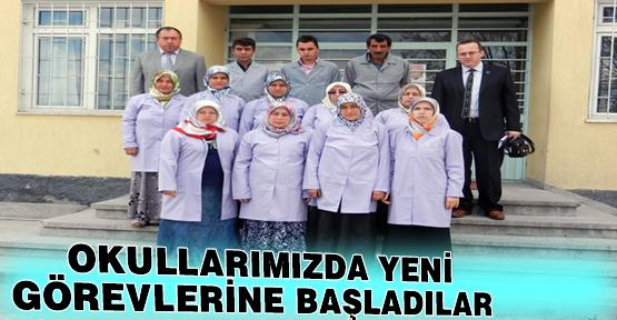 Okullarımızda TYÇP Kapsamında Çalışmak Üzere 13 Personel Görevlendirildi