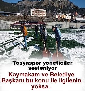 Tosyaspor Şampiyonluğa Kar Kürüyerek Hazırlanıyor