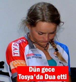 Dünya barışı için bisikletle yola çıkan 36 kişi Tosya'ya geldi