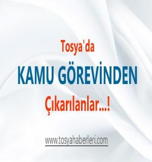 Tosya'da 686 sayılı KHK ile 3 öğretmen meslekten çıkarıldı