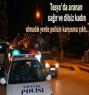 Dün gece Tosya'da kaybolan sağır ve dilsiz kadın bulundu