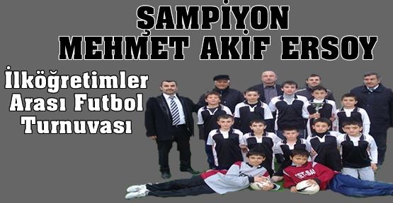 Şampiyon Tosya Mehmet Akif ERSOY