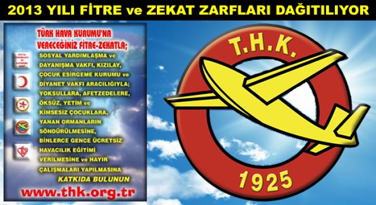 THK Tosya Şubesi Başkanlığı 2013 Yılı Fitre ve Zekat Zarfı Dağıtımı Devam Ediyor