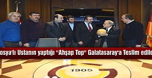 TOSYALI USTANIN YAPTIĞI ''AHŞAP TOP '' GALATASARAY MÜZESİNDE