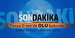 TOSYA D-100 KARAYOLUNDA ÖLÜ BULUNDU