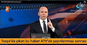 TOSYA KIZILAY KAN BAĞIŞI HABERİ...