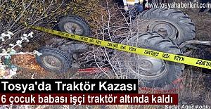 ALTI ÇOCUK BABASI İŞÇİ TRAKTÖR...