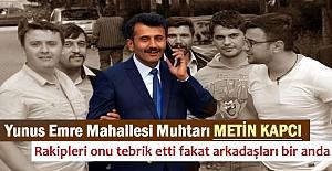 YUNUS EMRE MAHALLESİ MUHTARI METİN...