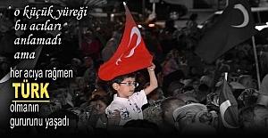 Tosya ''Demokrasi Nöbetine'' Tek yürek devam ediyor