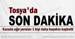 TOSYA-KASTAMONU KARAYOLUNDAKİ KAZADA SON DAKİKA GELİŞMESİ