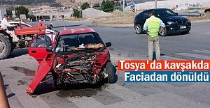 Tosya- Çorum Kavşağında Trafik...