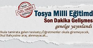Tosya'da Okullar için de yeni tedbirler mi geliyor!