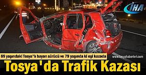 Tosya'lı 69 yaşındaki bayan sürücü Trafik Kazasında Hayatını kaybetti