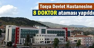 TOSYA'YA 8 DOKTOR ATAMASI YAPILDI