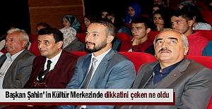 Tosya Kültür Merkezi Hizmete Başladı