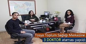 Tosya'ya 3 Doktor Ataması yapıldı