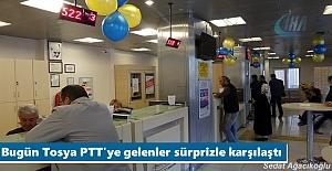 Tosya'da PTT'nin kuruluş yıl dönümü kutlandı