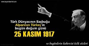 Bu gün rahmetli Alparslan Türkeş'in 99 doğum yılı