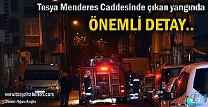 Tosya Menderes Caddesi Yangınında...
