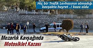 Tosyada Motosiklet kazasında 1...
