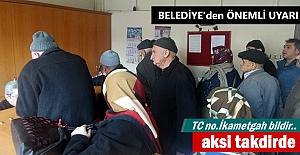 Tosya Belediyesinden Vatandaşlara...